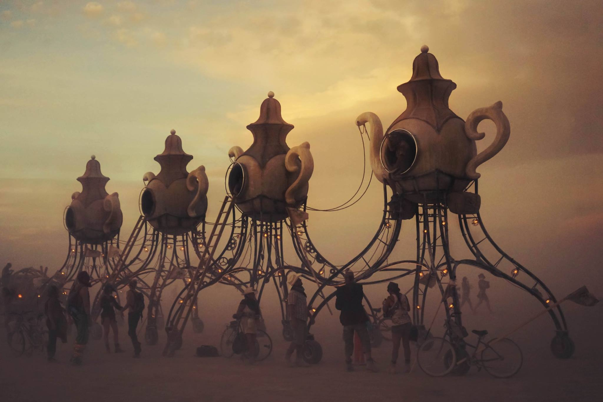 Burning Man – Napa, California - tea party