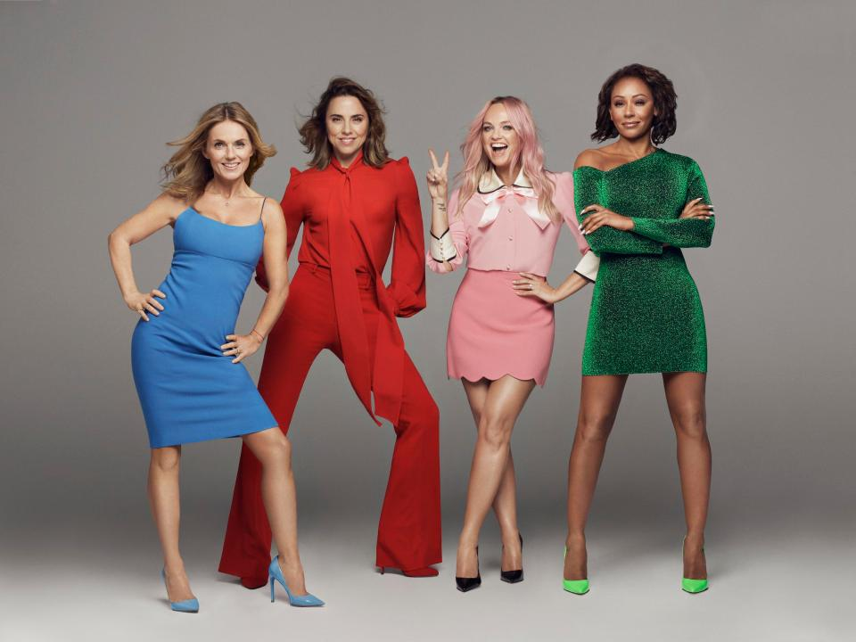 Spice Girls Return Tour