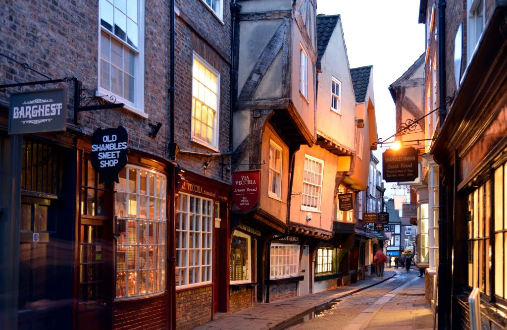 York City Walls and Shambles